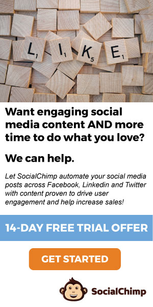 Social media automation by SocialChimp